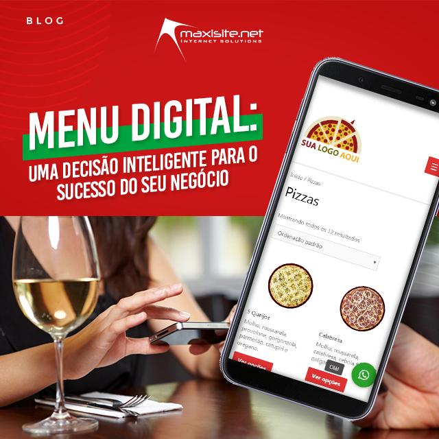 menu digital: uma decisão inteligente para o sucesso do sue negócio
